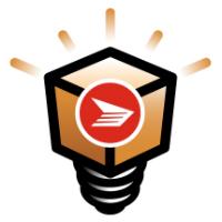 Logo des Prix pour l'innovation en cybercommerce de Poste Canada