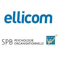 Logos d'Ellicom et SPB Psychologie organisationelle