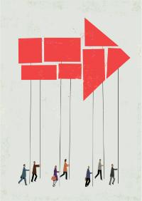 Illustration du concept de gouvernance