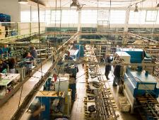 Illustration du concept du secteur manufacturier
