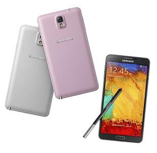 Téléphone intelligent Galaxy Note 3 de Samsung
