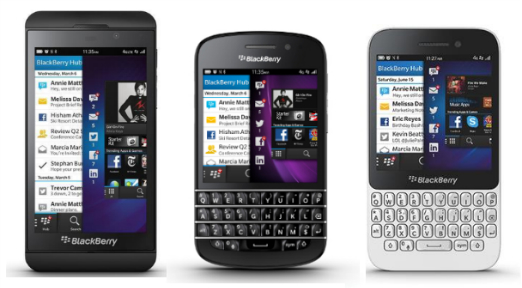 Appareils 2013 de BlackBerry