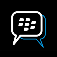 Logo de la messagerie BBM de BlackBerry