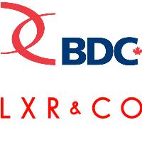 Logos de LXR & Co. et de la BDC