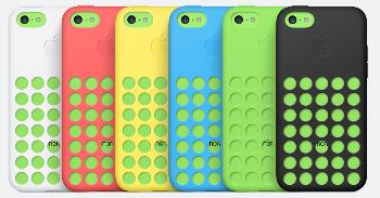Les étuis en silicone du iPhone 5C d'Apple