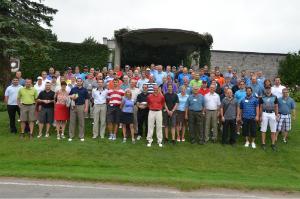 Participants au tournoi de golf de la section Laval-Laurentides-Lanaudière du Réseau ACTION TI