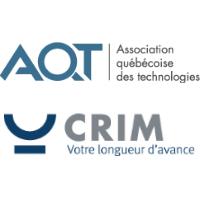 Logo de l'AQT et du CRIM