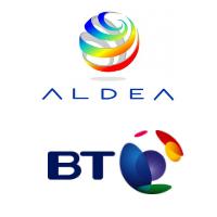 Logos d'Aldea Solutions et BT