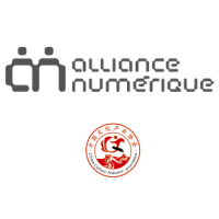 Logos d'Alliance numérique et de la Chinese Cultural Industry Association
