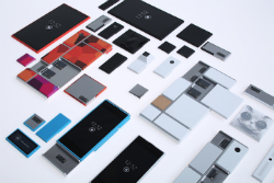 Représentation conceptuelle des composantes du projet Ara de Motorola