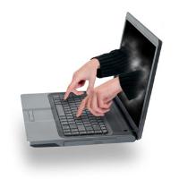 Illustration de pirate informatique