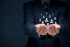 Illustration du concept de la gestion de la relation client