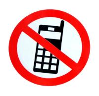 Illustration du concept de refus des appels de télémarketing