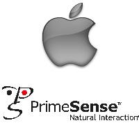 Logos d'Apple et de PrimeSense