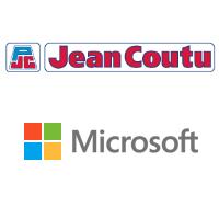 Logos de Groupe Jean Coutu et Microsoft