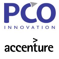 Logos de PCO Innovation et d'Accenture.