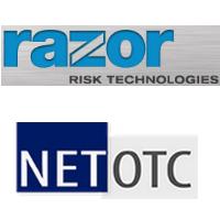 Logos de Technologies Razor Risk et de NetOTC
