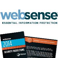 Logo et rapport de Websense