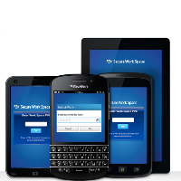La solution EMM de BlackBerry