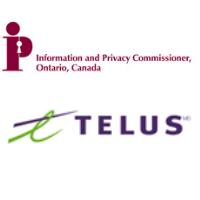 Logos de la Commission à la vie privée de l'Ontario et de TELUS