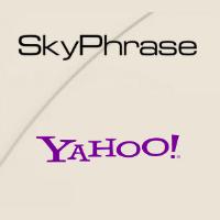 Logos de SkyPhrase et de Yahoo