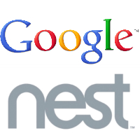 Logos de Google et de Nest