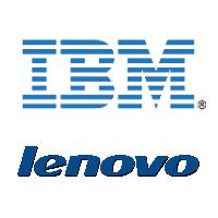 Logos d'IBM et Lenovo