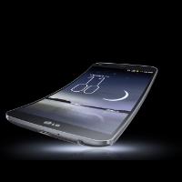 Le téléphone intelligent G Flex de LG