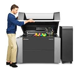 Imprimante 3D Objet500 Connex3 de Stratasys.
