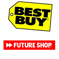 Logos de Best Buy et de Future Shop
