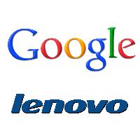Logos de Google et Lenovo
