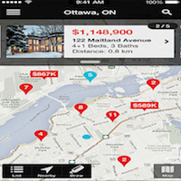 Royal LePage et son application mobile