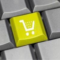 Illustration du concept du commerce électronique