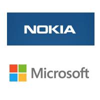 Logos de Nokia et Microsoft