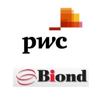 Logos de PricewaterhouseCoopers (PwC) et Biond Conseil