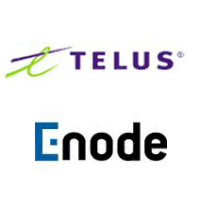 Logos de TELUS et Enode