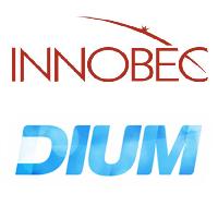 Logos d'Innobec Technologies et Dium
