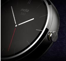 La montre intelligente Moto 360 de Motorola