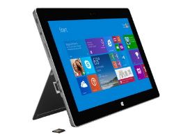 Tablette Surface 2 de Microsoft