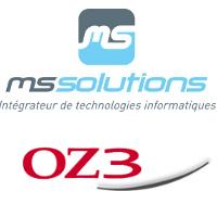 Logos de MS Solutions et OZ3