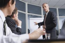 Illustraton du concept de conseil d'administration