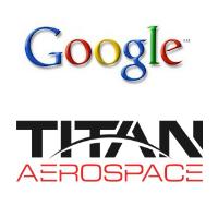 Logos Google et Titan Aerospace