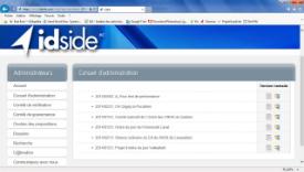 Capture d'écran d'Idside