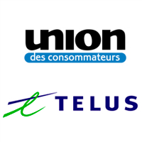 Logos de l'Union des consommateurs et de TELUS