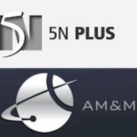 Logos de 5N Plus et AM&M