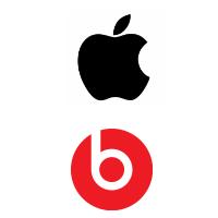 Logos d'Apple et de Beats Electronics