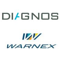 Logos de Diagnos et Warnex