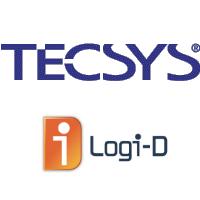 Logos de Tecsys et Logi-D