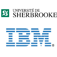 Logos de l'Université de Sherbrooke et d'IBM Canada