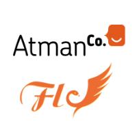 Logos d'AtmanCo et de Fly Conseils